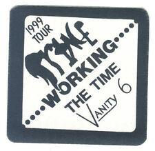 Prince - 1999 Tour - Konzert-Satin-Pass Working The Time Vanity 6 - Sammlerstück