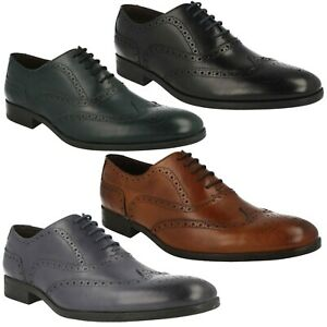 5a1657d8fcb Image is loading BANFIELD-LIMIT-MENS-CLARKS-LEATHER-OFFICE-FORMAL-BROGUE-