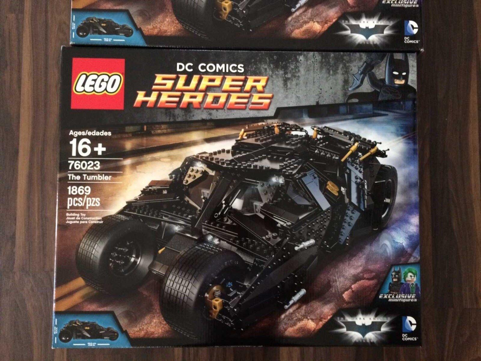 LEGO BATMAN 76023 THE TUMBLER-RITIRATO. BNISB DC Comics. SIGILLATO in fabbrica