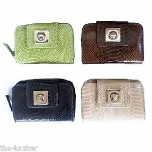 Ladies-girls-purse-wallet-NEW-black-brown-tan-or-green-medium-size-great-quality
