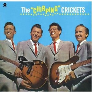 Buddy-Holly-amp-Crickets-Buddy-Holly-Chirping-Crickets-New-Vinyl-Bonus-Track