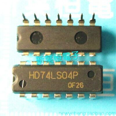 5PCS HD74LS04 HD74LS04P DIP IC HITACHI NEW