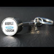 Original Built Ford Tought Muscle Car Schlüsselanhänger Anhänger Key Chain Chrom