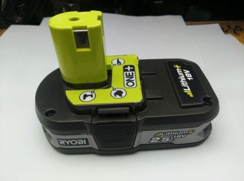 1 of 1 - Used Ryobi 18V RB18L25 2.5Ah  One+ Li-ion Cordless Tool Battery Pack