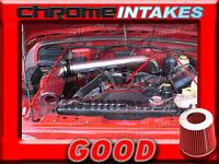 Black Red 97-05 Jeep Wrangler Se/sahara/sport/rubicon 2.5l 4.0l Cold Air Intake