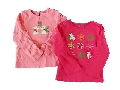 Gymboree NWT Charm Class Girls Love Apple Shirt Size 18-24 M