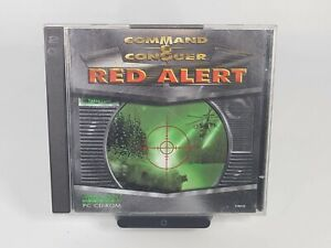 Command & Conquer Red Alert PC CD-ROM 2 Disc Video Game for Windows