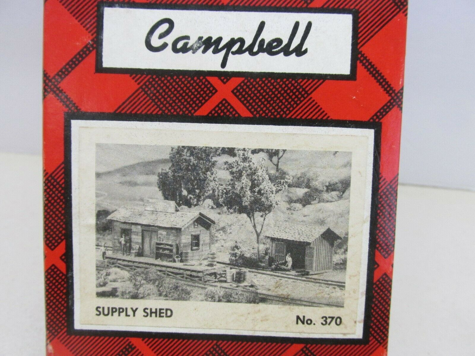 CAMPBELL SCALE MODELS  SUPPLY SHED BUILDING KIT  HO SCALE