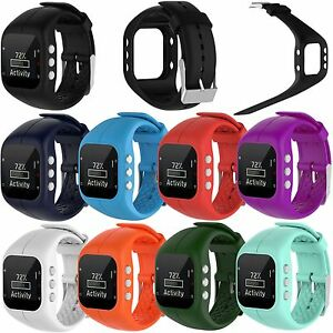 6dcefdc84520 Silicone Watch Band Replacement Wrist Strap Holder for Polar A300 ...
