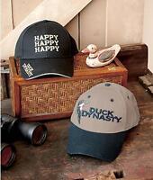 Duck Dynasty Hat Cap - Choose From Duck Or Happy Happy Happy Design -