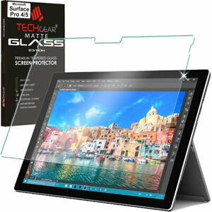 check out d966a 78e3c Details about Anti-Glare TEMPERED GLASS MATTE Screen Protector for  Microsoft Surface Pro 4 / 5