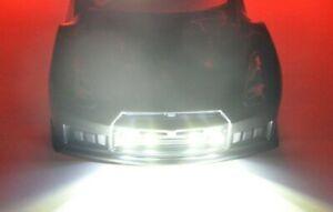 Traxxas Slash 4tec Xmaxx LED HD Light Kit Only Headlights & Tail lights -HD4W2R
