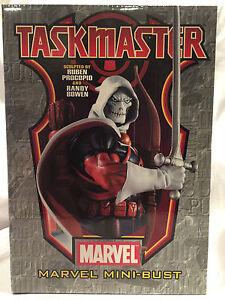 Rare-2005-Collectible-Marvel-Comics-Taskmaster-Bowen-Mini-Bust-2201-of-3000-NIB