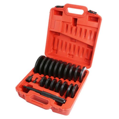 21Pcs Extra Large Custom Bush Bearing and Seal Driver Set Hydraulic Press US
