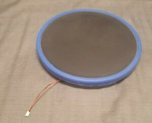 PS3 Playstation 3 Guitar Hero Red Octane Blue Drum Pad + Sensor Tested Working