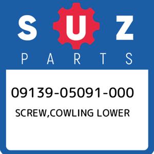 09139-05091-000-Suzuki-Screw-cowling-lower-0913905091000-New-Genuine-OEM-Part