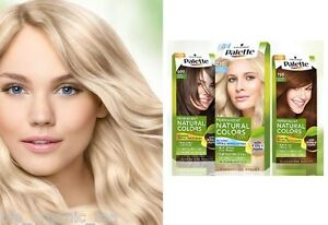 Palette Natural Hair Colourant Blonde Brown Dark Red Black ...