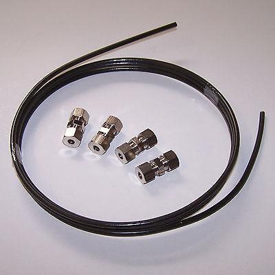 Bremsleitungsverbinder 4,75mm Bremsleitung Verbinder 2 Stück Audi 50 60 75