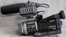 Sony HVR-A1U High Definition Camera Recorder & Wide & Tele & high cap batts