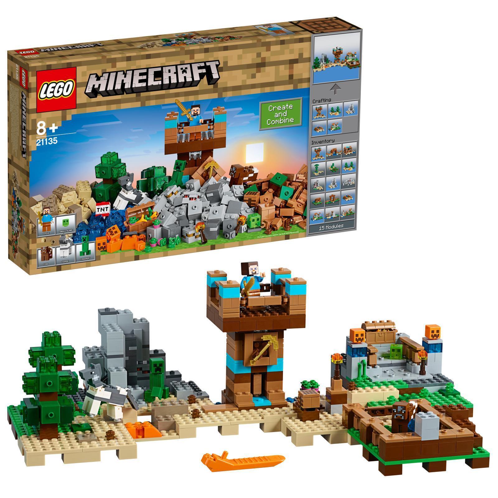 À À À la fin de l'année, j'ai acheté un grand groupe et rencontré environ dix mille ménages. Lego 21135-Minecraft les Crafting-Box 2.0 - article NEUF 1f482f