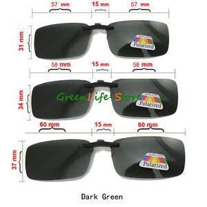 Hot-Polarised-Clip-On-Style-Sunglasses-UV400-Polarized-Driving-Eyewear-amp-Case-UK