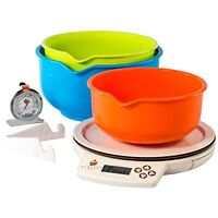 Perfect Bake Smart Scale And Recipe App Cook Tool, White, New, Free Shipping on sale