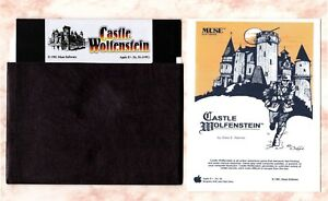 Castle-Wolfenstein-for-the-Apple-II-IIe-IIc-amp-IIGS-New-Disk-Card