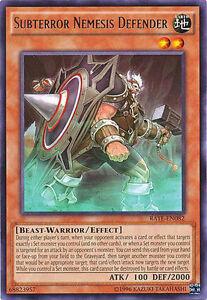 M//NM - Subterror Nemesis Warrior 1st Edition YuGiOh 3x TDIL-EN082 Rare