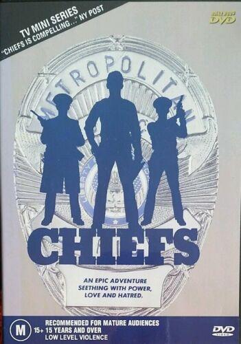 1 of 1 -  CHIEFS (Charlton Heston) COMPLETE TV MINI-SERIES GENUINE REGION 4 DVD RARE OOP