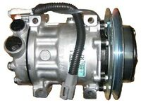 Ford & Sterling A/c Compressor With Single Groove Clutch Sanden on sale