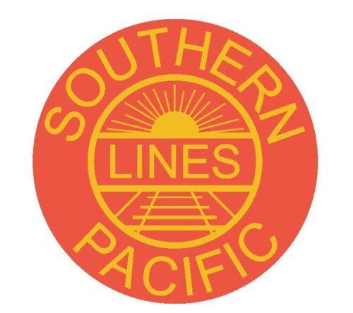 Southern Pacific Railroad Sticker TOOL BOX Locker R30 CHOOSE SIZE FROM DROPDOWN