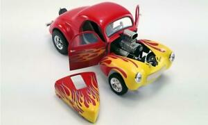 1-18-1941-WILLYS-GASSER-RED-W-FLAMES-LTD-408-PCS-1-18-DIECAST-BY-ACME-A1800916