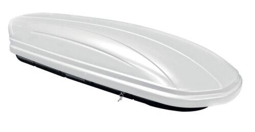 portaequipajes de techo crv107a para audi q7 4l 5 puertas 06-15 Caja maa320l blanco