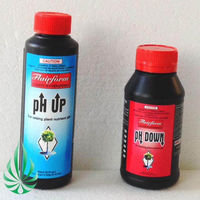 PICK UP PH UP & PH DOWN NON-HAZARDOUS PH ADJUSTMENT SOLUTIONS 2x 250ml KIT