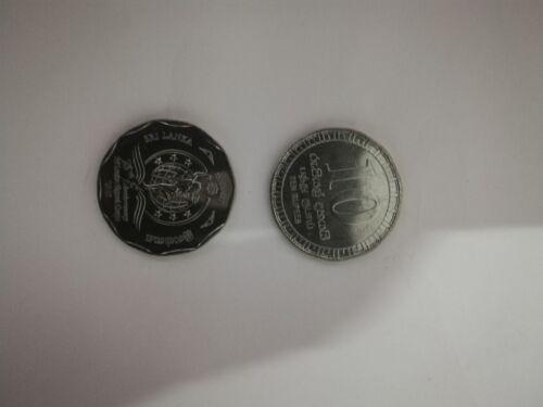 1 UNC mint coin sri lanka signal corps 75th anniversary 2018 issue