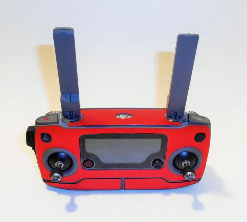 DJI Mavic 2 Pro//ZOOM-Skin-Alu Red Brushed//Alu Red Brushed 3-5 Batteries