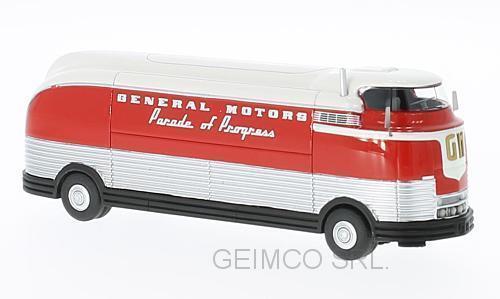 Gm futurliner parade pregress 1953 bos modelle nach bos87265 modell