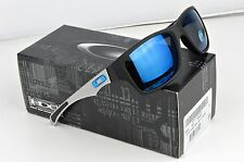 NUOVO OAKLEY Jupiter Carbon Matte Black Ice Iridium Polarized Occhiali da sole OO9220-04