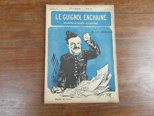 Revue LE GUIGNOL ENCHAINE PAMPHLETAIRE ILLUSTRE No 5 (10 Mai 1922)