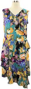 A351037-Susan-Graver-XL-Multi-Floral-Liquid-Knit-Dress-w-Sheer-Chiffon-Ruffles