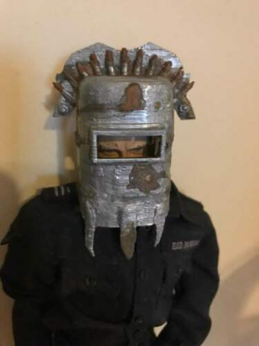 1//6 Scale Post Apocalyptic Welder Helmet Weathered
