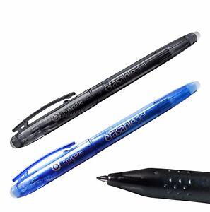 Proscribe-Erasable-Gel-Pens-Black-or-Blue-Ink-Friction-Pens-Erase-Rollerball