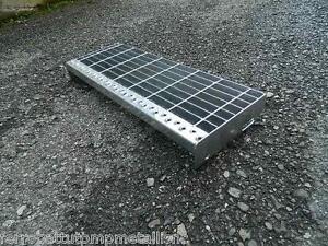 gradino in ferro zincato per scale scalino scala esterno