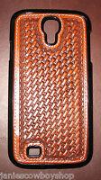 Western Tooled Basket Phone Case Samsung Galaxy S4 Cowboy Cowgirl Accessory