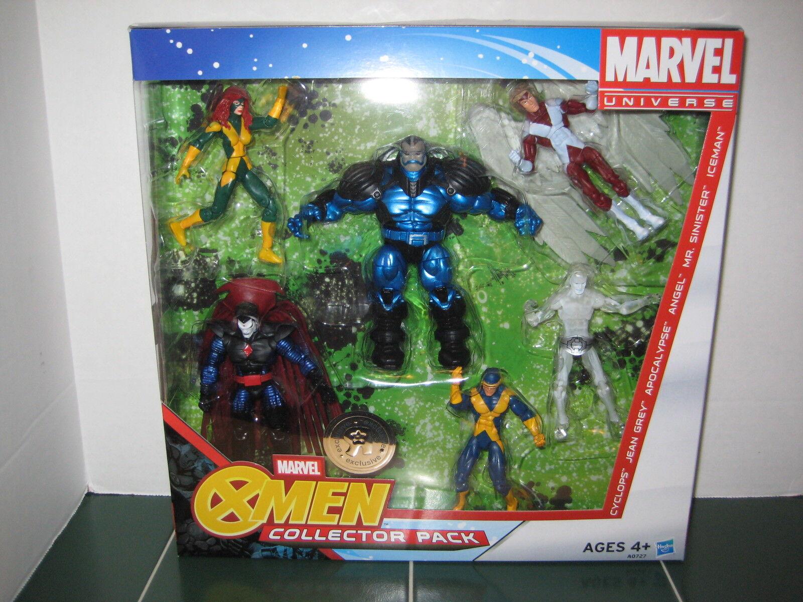 Marvel - universum  x - men  exklusives paket zyklop jean grau apokalypse engel iceman