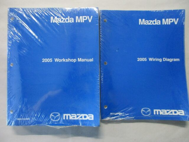 2005 Mazda Mpv Repair Manual