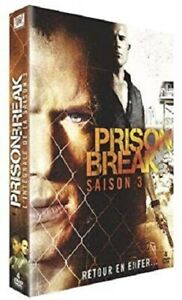 COFFRET NEUF - DVD SERIE : PRISON BREAK : SAISON 3 INTEGRALE - MICHAEL SCOFIELD