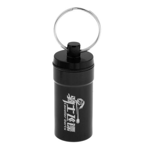 2Pcs tragbare Dartspitzen Protector Holder Zubehör Aufbewahrungsbox für