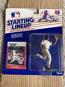 1988 ELLIS BURKS Boston Red Sox #56 Rookie Starting Lineup