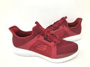 ELITE FLEX Slip On Walking Shoes Red